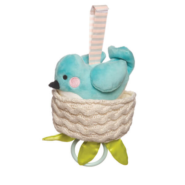 Bluebird lullaby toy
