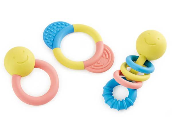 rattle teether set