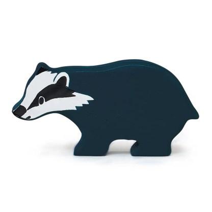 badger tenderleaf woodland animals