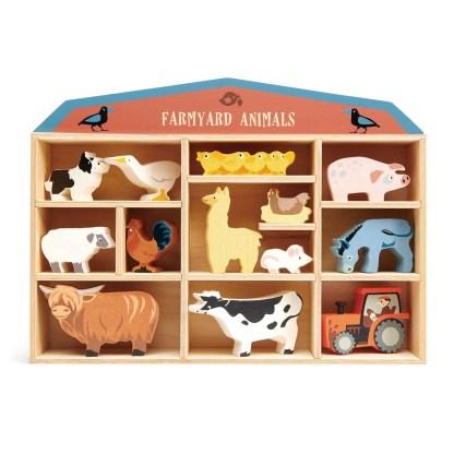 farmyard animal set tenderleaf