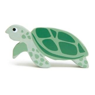 tender leaf toys wooden turtle