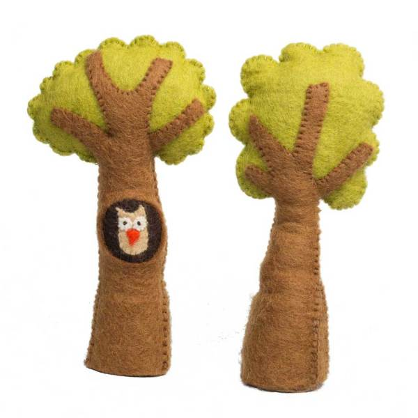 tree set with owl paooose