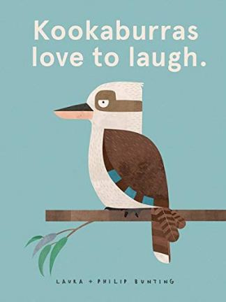 kookaburras love to laugh cover
