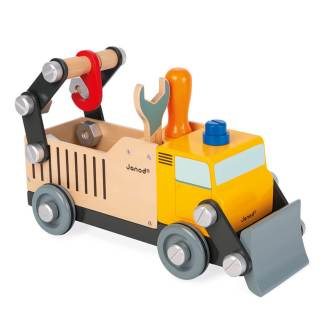 construction truck from janod