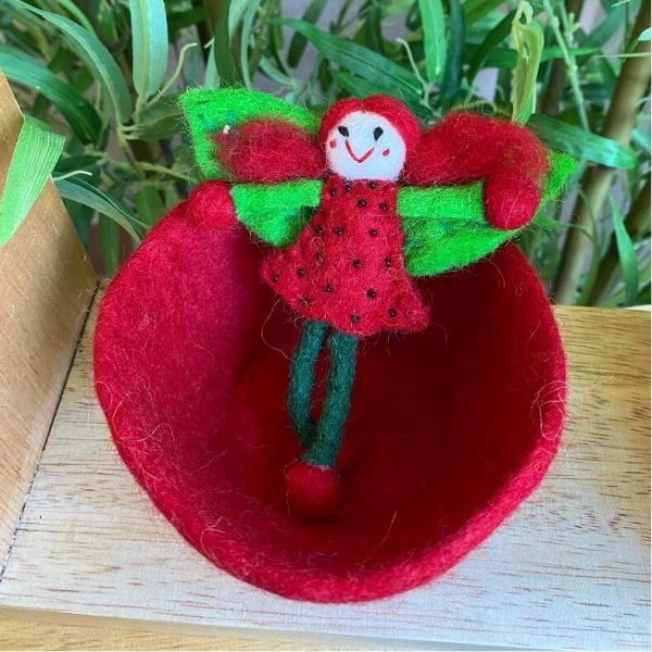 strawberryfairy in red bowl 1