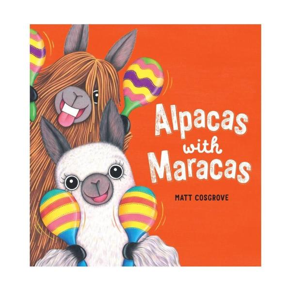 alpacas with maracas cover