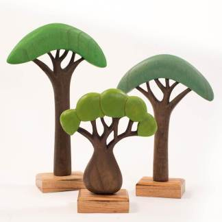papoose african green trees