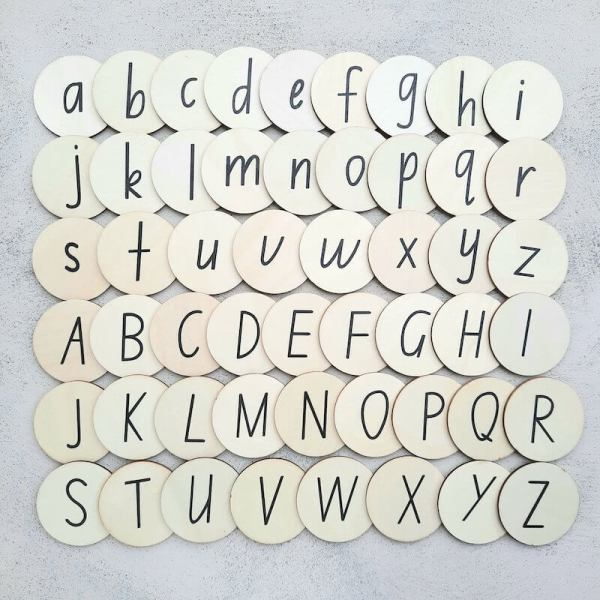 my little set alphabet mega set - australian made