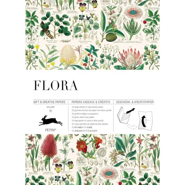 flora front cover wrap book
