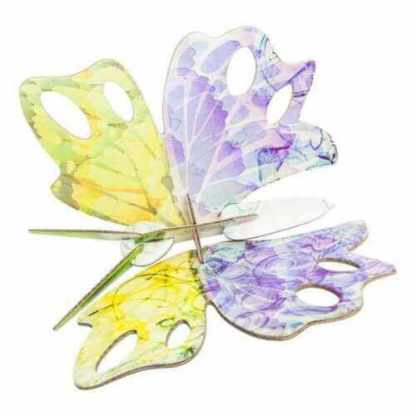 butterfly pop out card studio roof