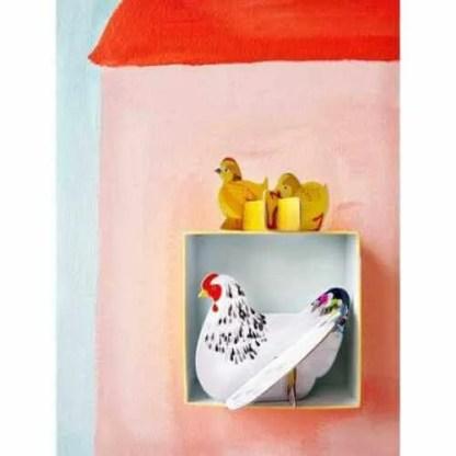 chicken and chicks studio roof