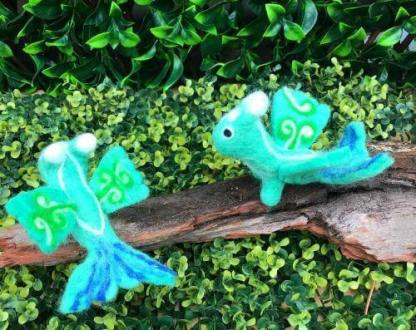 baby sea dragons in the park