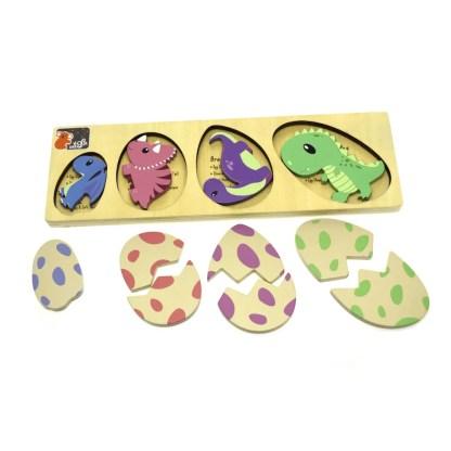 dinosaurs eggs puzzle