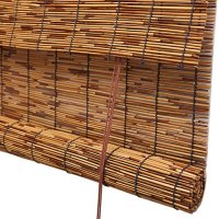 Oriental Furniture Bamboo Roll Up Blinds Natural 36