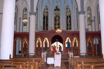 Dortmund-Kley Kirche Altar