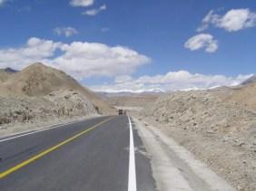Karakorum Highway in Xinjiang