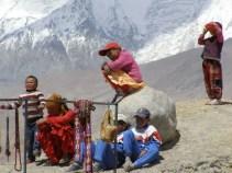 Kinder am Karakulsee