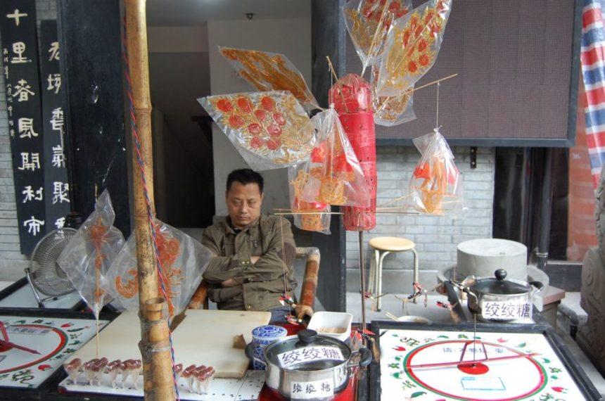 Chengdu Sweets Zuckerkunstwerke