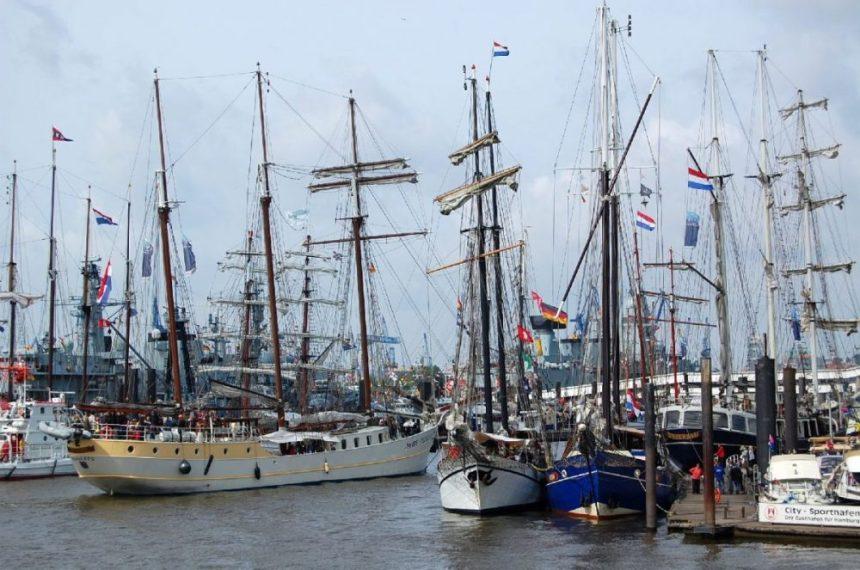 Hamburg Hafengeburtstag 2014 Segelschifee