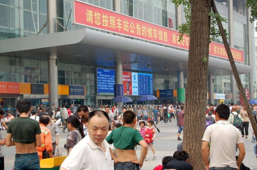 Chengdu im Sommer
