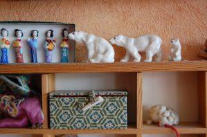 Kleine Souvenirs im Setzkasten