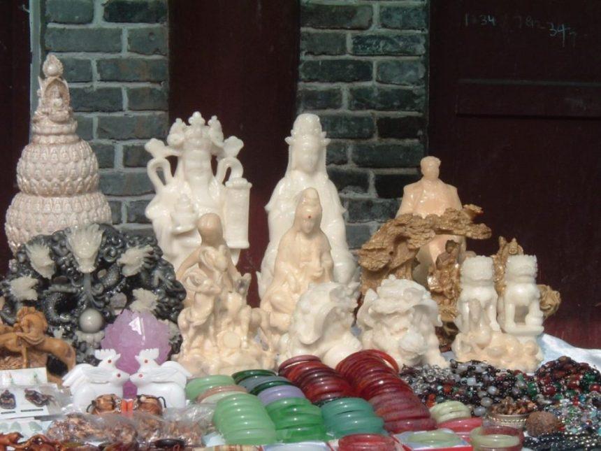 Souvenir Shop am Yangtze