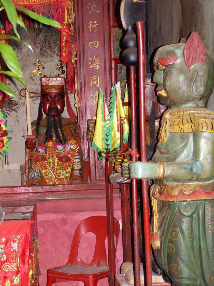Hung Shing Tempel Wächter