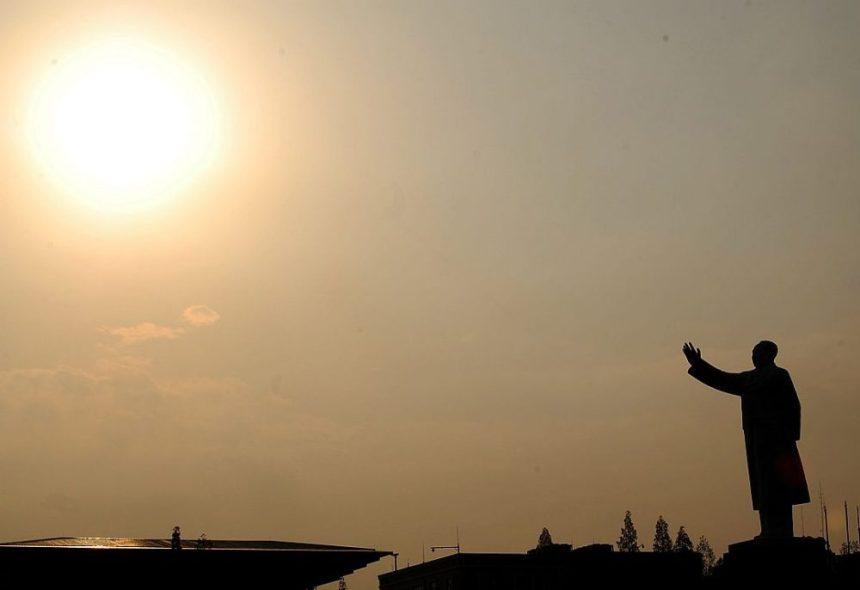 Mao Statue Tianfu Platz