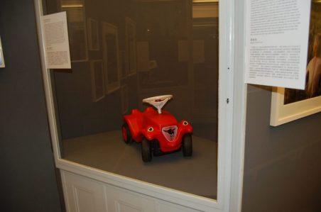 Roter Bobby Car