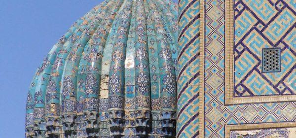 Samarkand Registan blaue Kuppel