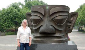 Ulrike in Sanxingdui