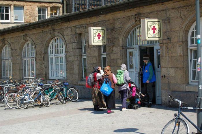 Bahnhofsmission am Hamburger Hauptbahnhof
