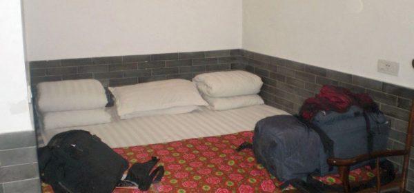 Gepäck im Zimmer