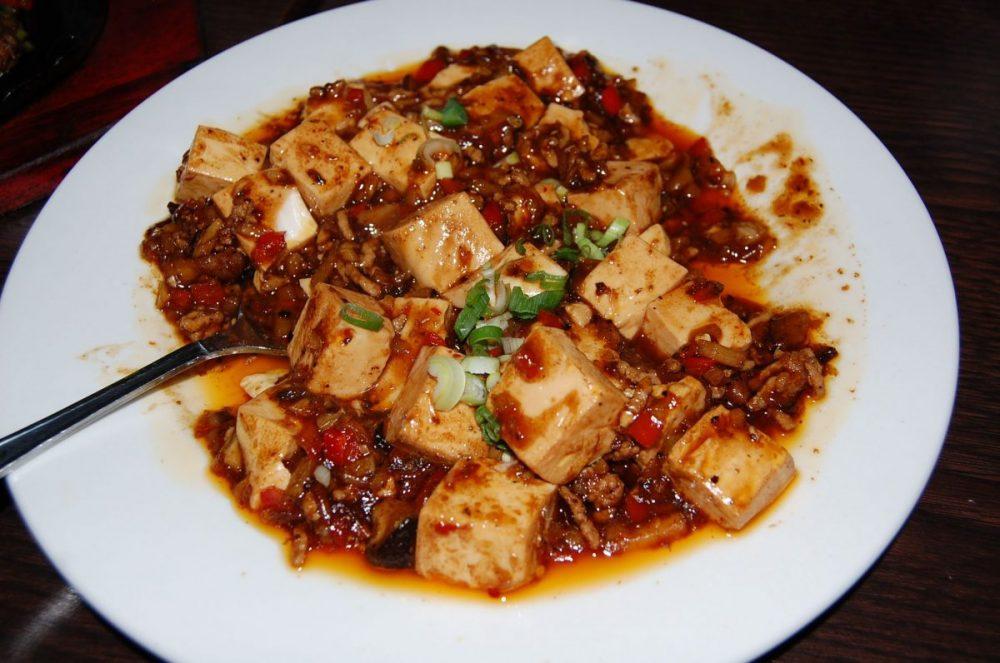 Mapo Doufu – Scharfer Tofu mit Hackfleisch