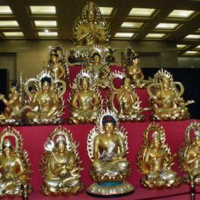 Famen Tempel Buddhas