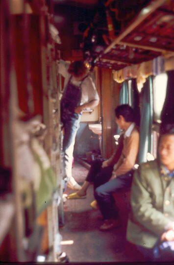Unterwegs in China: Hardsleeper