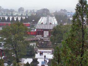 Schnee in Xi'an