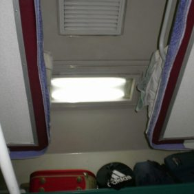 Hardsleeper 2009. Ja, da hinten rechts ist mein Rucksack. Der gleiche Rucksack wie schon 1987 und 1991/92