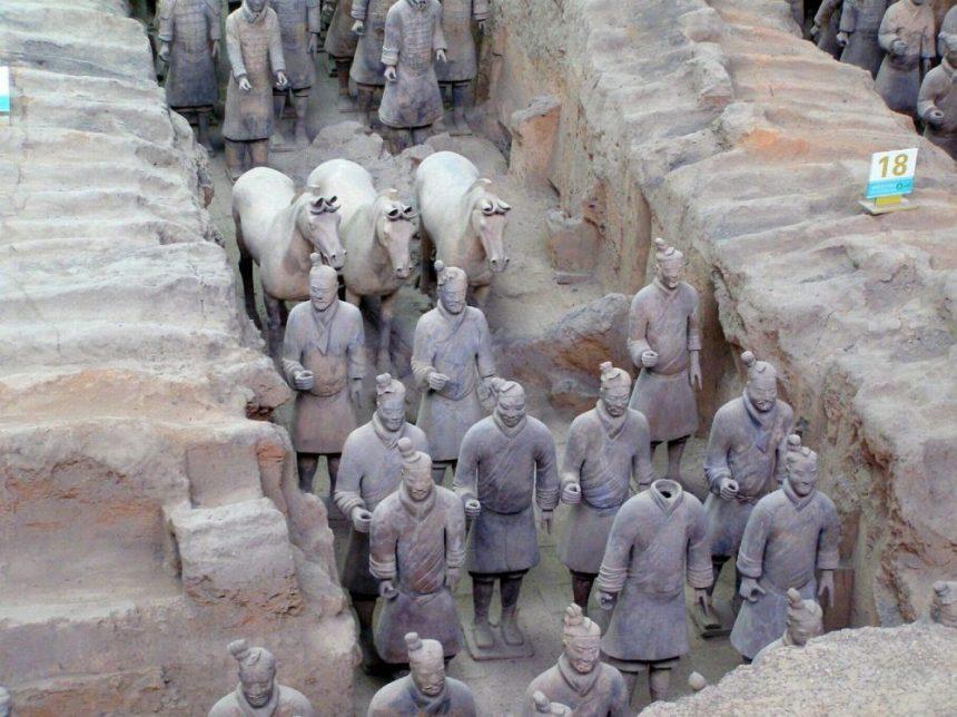 Terrakotta-Armee in Xi'an
