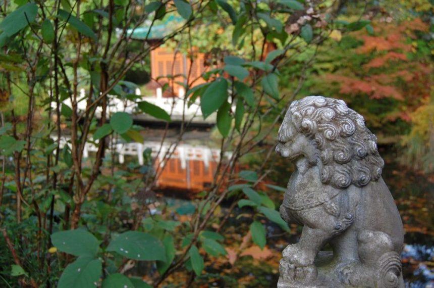 Duisburg Chinesischer Garten Loewe