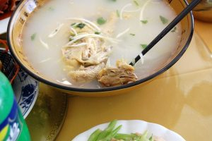 Hühnersuppe 2015 in Shanxi