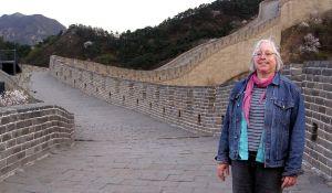 China ohne Touristen: auf der Großen Mauer bei Badaling