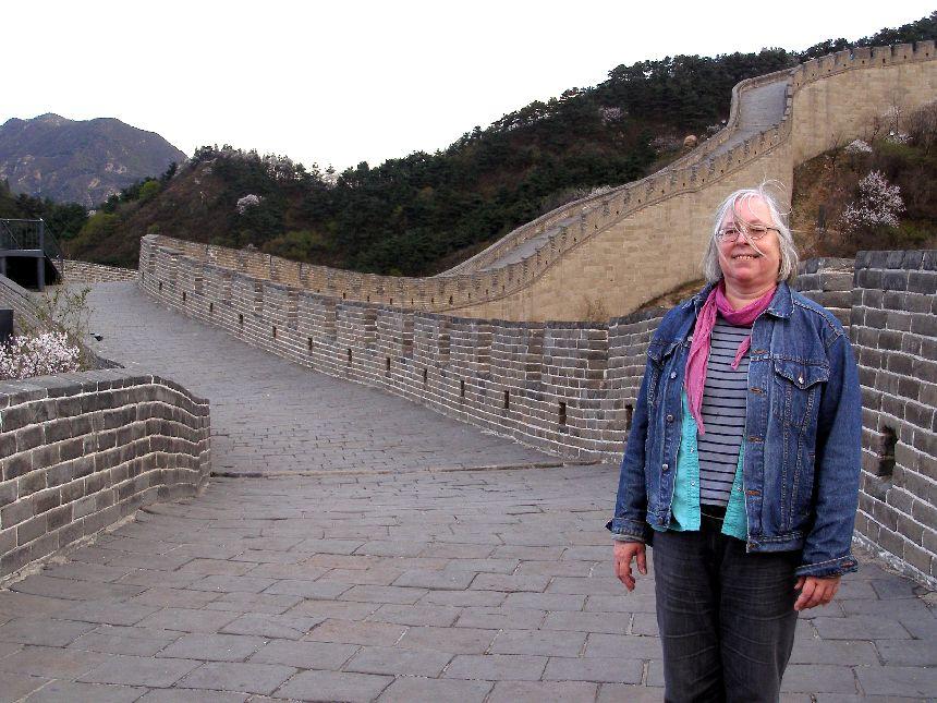 Alleine auf der Großen Mauer bei Badaling
