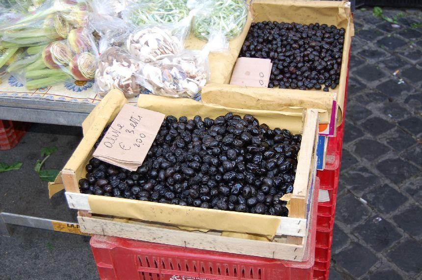 Markt: Oliven
