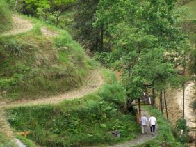 Fussweg durch die Reisterrassen
