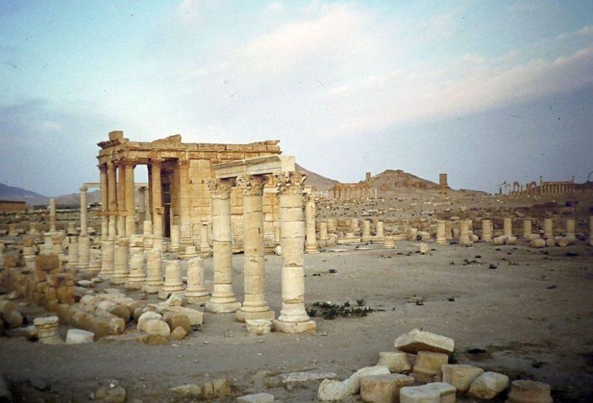 Palmyra Ruinen 1982