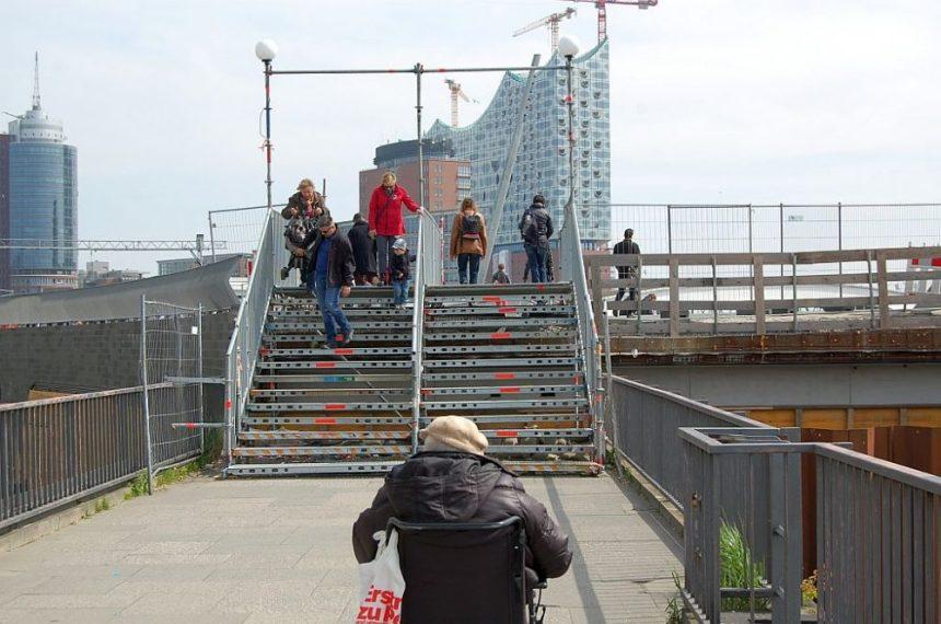 Hamburg barrierefrei ist das nicht