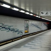 U-Bahnsteig Horn