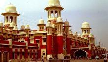Der Bahnhof von Lucknow 1992