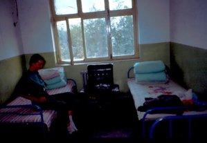 Hotelzimmer bei Korla